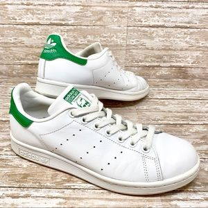 ADIDAS Originals Stan Smith Green White Sneakers